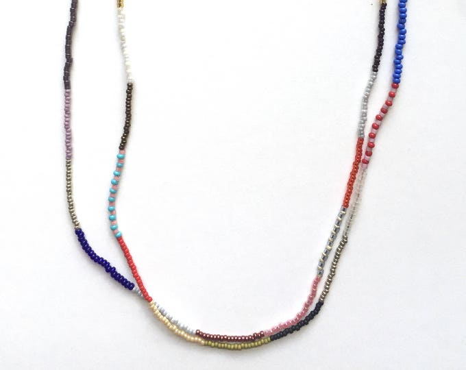 Sacha Seed Bead Necklace