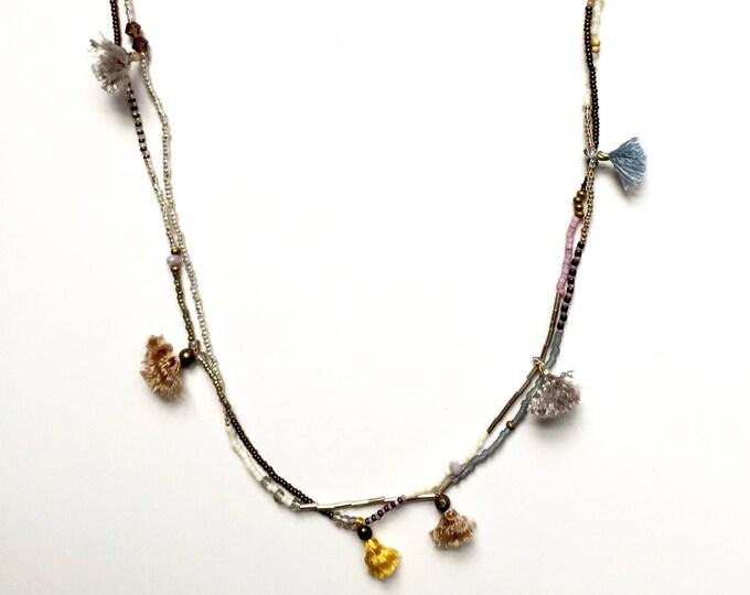 Luella Mini Tassel Necklace