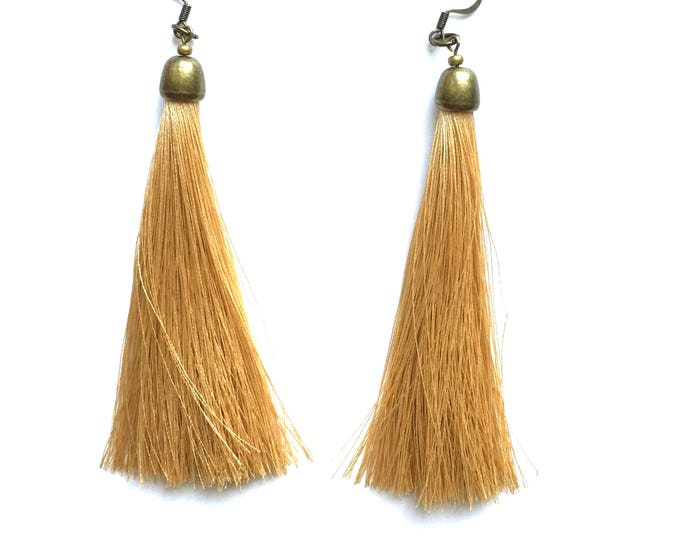 Sandy Tassel Earrings
