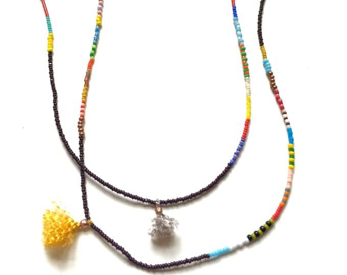 Helen Mini Tassel Necklace