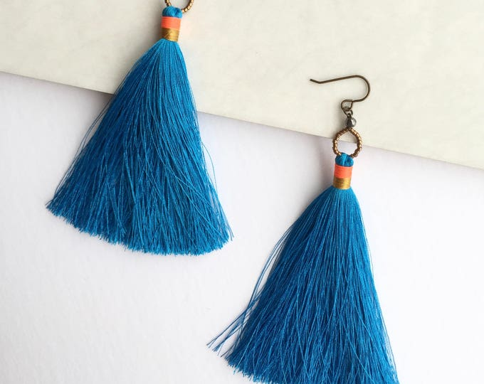 Laguna Tassel Earrings