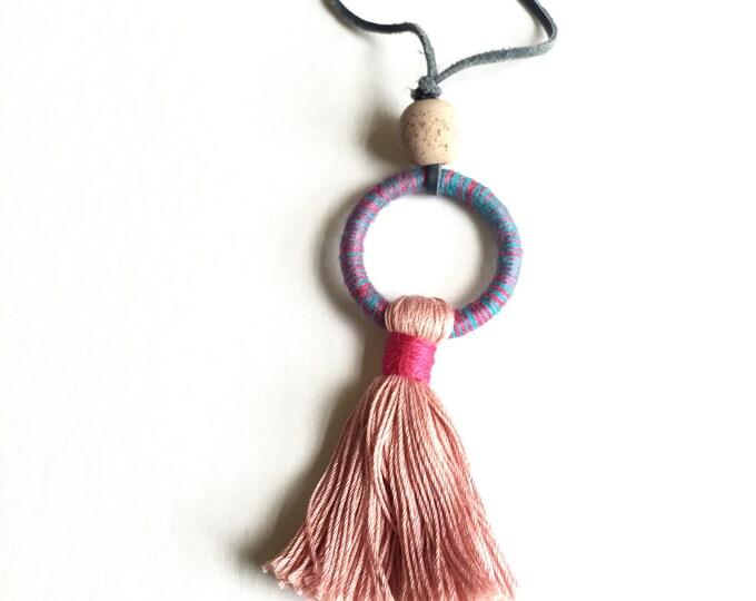 Surrey Tassel Necklace