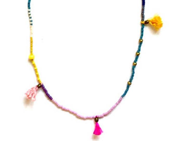 Alma Tassel Necklace