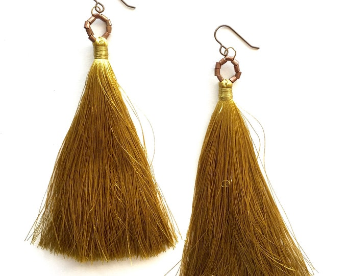 Louise Tassel Earrings