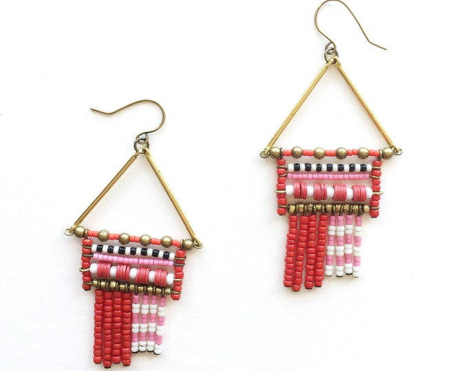 Oslo Beaded EArrings