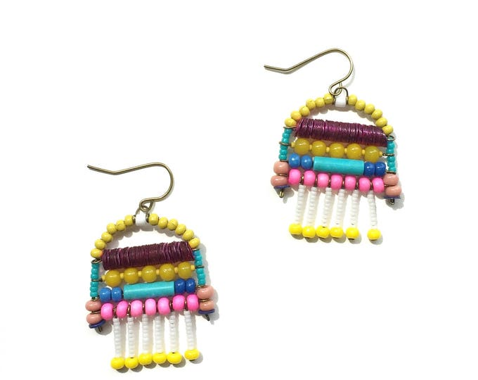 Florida Beaded Earrings