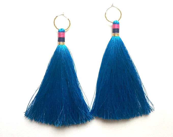 Orca Tassel Earrings