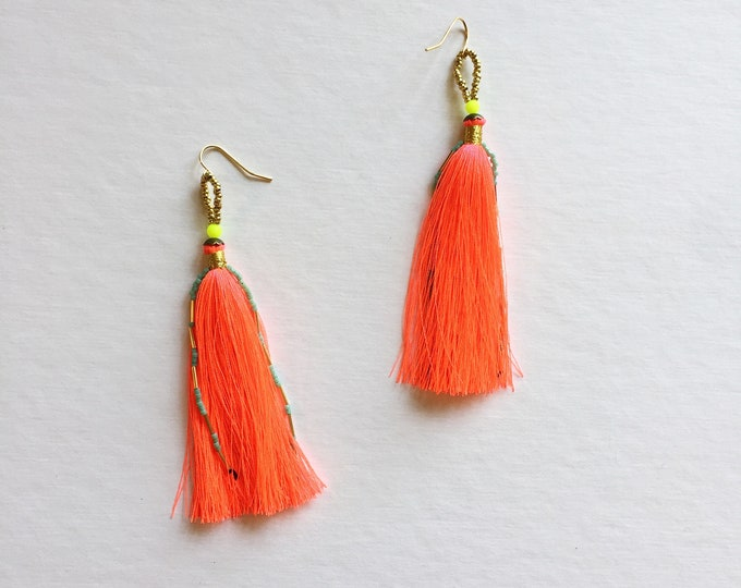 Solano Tassel Earrings