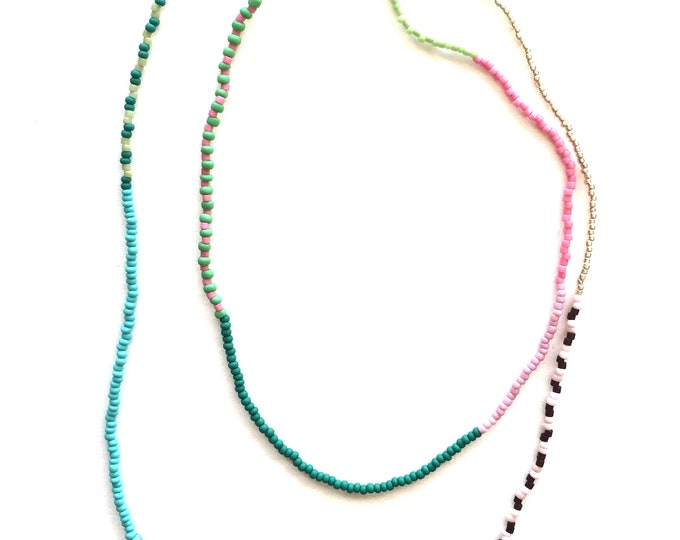 Thyme Seed Bead Necklace