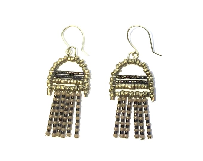 Hayling Beaded Earrings