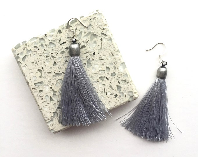 Pluto Tassel Earrings
