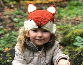 8d3d75ec083 Fox Hat for baby