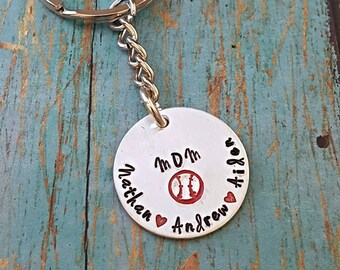 Baseball Mom Keychain - Baseball - Baseball Mommy - Baseball Lover - Gift for Her - Baseball Life - Baseball Mom - Baseball Fan