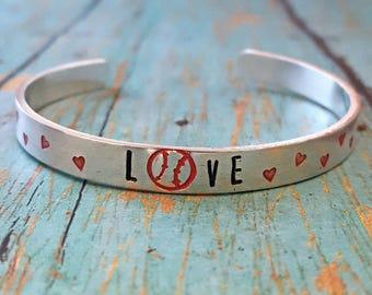 Baseball Bracelet - Love - Cuff Bracelet - Baseball - Softball Mom - Sports Mom - Baseball Fan - Team Sports - Mom - Sports Jewelry - Sports