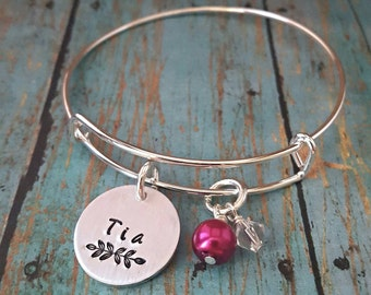 Tia Bracelet - Tia - Gift for Tia - Favorite Tia - Gift for Aunty - Aunt -Aunty - Aunt Gift - Aunt Jewelry - Special Aunt - Spanish Jewelry