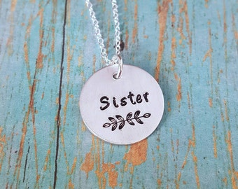 Unique Gift for Sisters - Sister - Sister Gift - Gift for Sister - Sister Jewelry - Big Sister - Middle Sister - Little Sister - Sisters