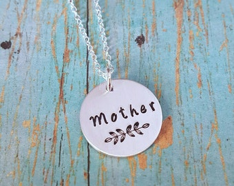 Mother's Necklace - Mother - Gift for Mother - Gift for Mom - New Mother Gift - Mom - Mommy - Mom Necklace - Mother's Day - Women's Jewelry