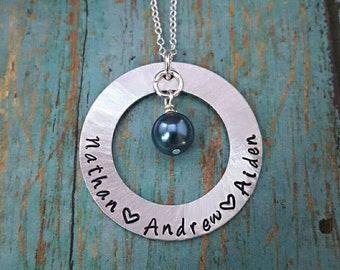 Mother's Necklace - Mom - Personalized Name Necklace - New Mom - Gift for Mom - Gift for Her - Mother's Day - Gift for Women - Birthday Gift