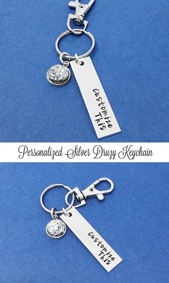 Corporate Gifts Set Of 11 Hand Stamped Keychains Group Gifts Bulk Order Discount Applied Wedding Gift Personalized Gift Party Favors
