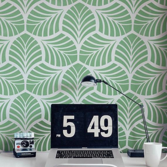 Wande Streichen 24 Kreative Ideen Mit Wandschablonen 13
