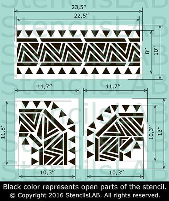 Ornament Border Decals Glitter Border Iron On Decals,