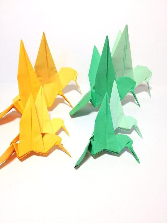 Hummingbird Garland Origami Hummingbirds Wedding Backdrops Etsy