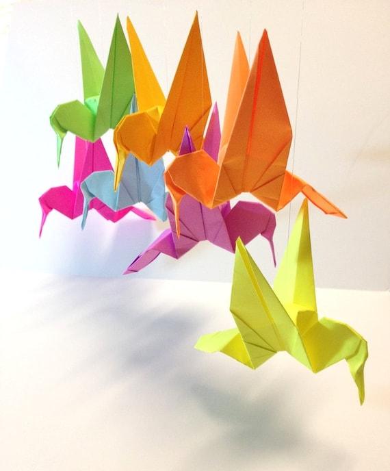 Origami Garlands Hummingbird Wedding Hummingbird Garland Etsy