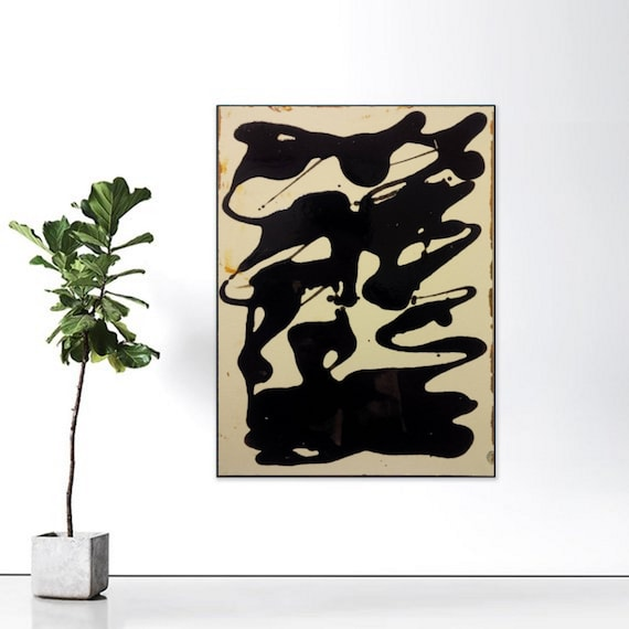 CANVAS WALL ART LARGE QUALITY ABSTRACT PRINTS CONTEMPORARY DIGITAL ZETA BLACK