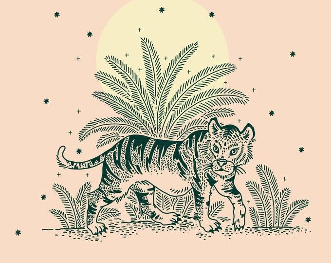 Jungle Tiger Giclee Print