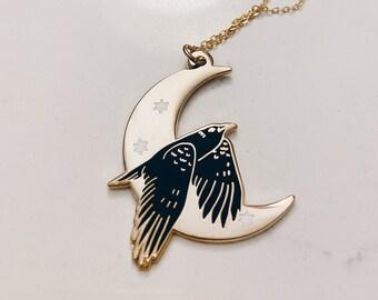 Celestial Bird Necklace