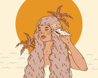 Islands Calling Giclee Print