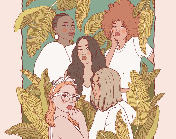 International women's day 2020- limited edition print