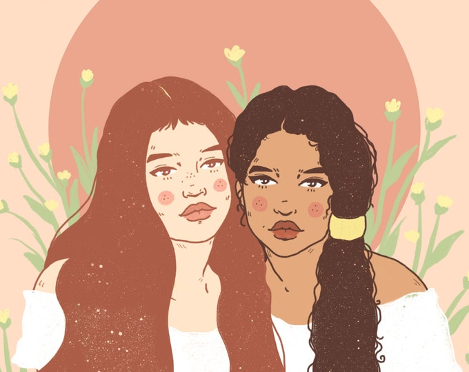 Flourish Together Giclee Print
