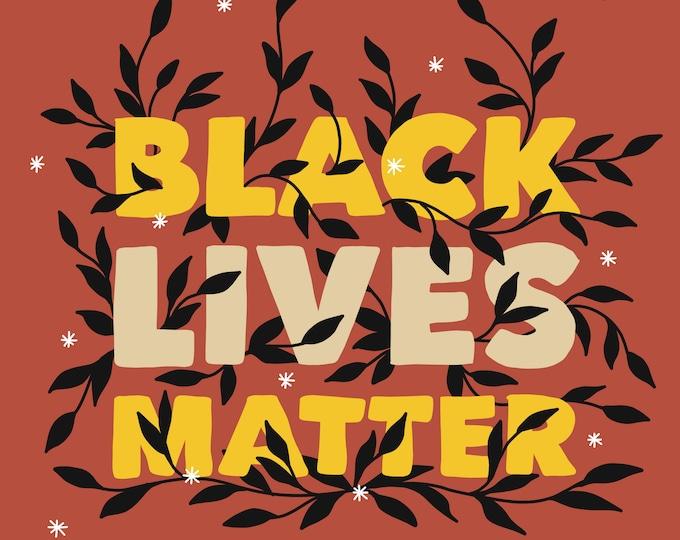 Black Lives Matter Poster (Digital Download)