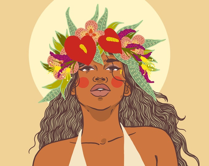 Marianas Giclee Print