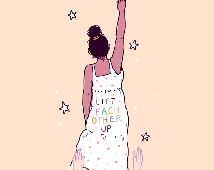 Lift Eachother Up Giclee Print