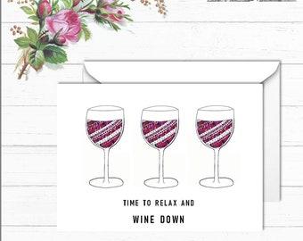 Grappige Verjaardag Wijn Etsy