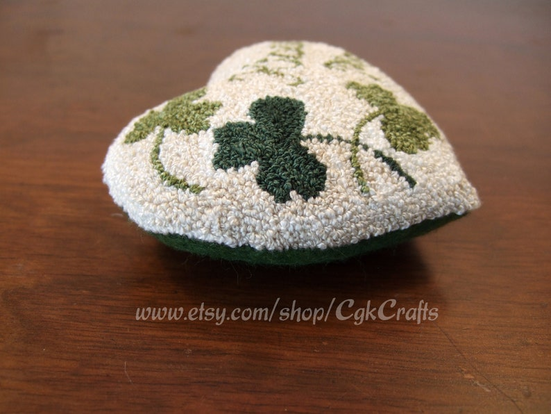 St Patrick/'s Day Punch Needle Bowl Fillers Decoration Digital Pattern