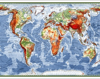 Flowers world map map of the world world map map of the world map map of the world world map poster large world map world map print world map art modern map of the world gumiabroncs Gallery