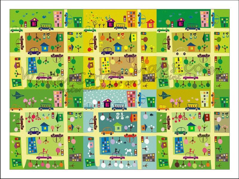 KIDS Maps, Kids WORLD MAP, Childrens Maps, Kids Wall Map, Kids Prints, on
