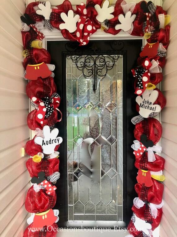 Birthday Party Decor Door Garland Door Decor Door Hanger Etsy