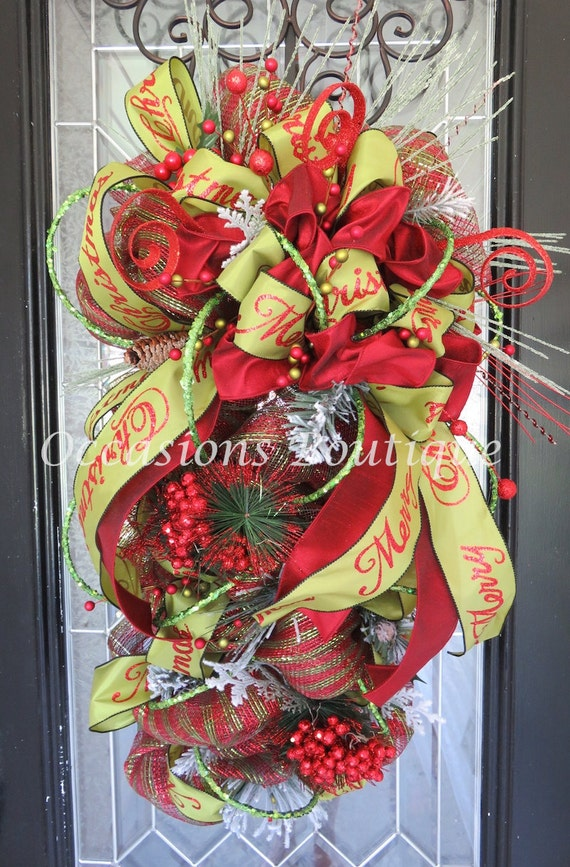 image 0 - Christmas Wreaths Etsy