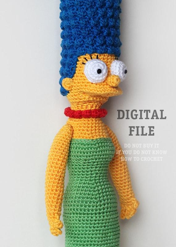Cartoon Crochet Pattern Amigurumi Pattern Doll Crochet Etsy