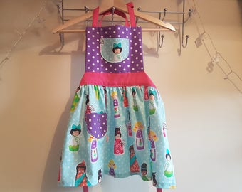 Girls Apron - Age 5-7 Years