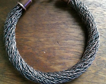 Mens Viking Knit Bracelet