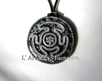 wheel of Hecate pendant