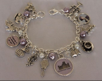 Downton Abbey Handmade Jewelry, Downton Abbey Jewelry, Downton Abbey Lady Sybil Bracelet, Downton Abby Bracelet, Downton Abbey TV Series