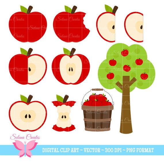 Free Clip art - Clip Art Collection - Download Clipart on Clipart Library | Apple  clip art, Fruit painting, Fruit art