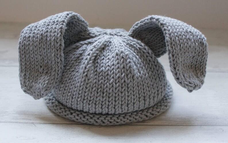 4f850b511b4 Rabbit knitting pattern Baby Hat Pattern Baby Bunny Hat