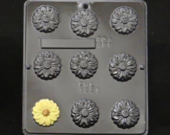 Daisy Chocolate Candy Mold 1251